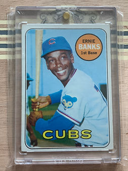 1969 Topps Ernie Banks - Ungraded - July