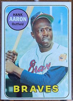 1969 Topps Hank Aaron