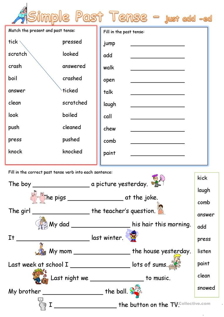 simple-past-tense-add-ed_67150_1 - March