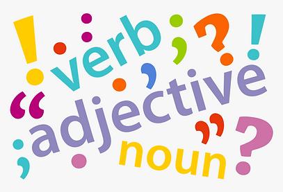 Verb Ajective Noun Image 1 - Sept 20 202