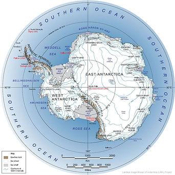 A1-A2 - Map of Antarctica - April 24 202