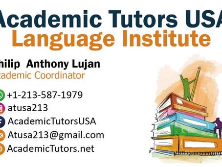 Aprenda inglés para el examen de ciudadanía con Academic Tutors USA