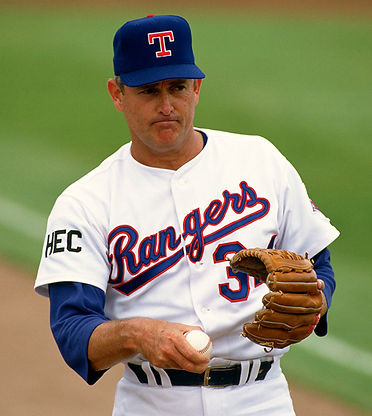 Nolan Ryan - MLB - Texas Rangers - July