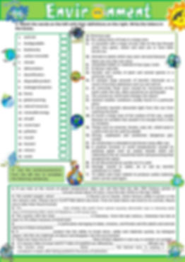 B1-B2 Vocabulary Act 2 - Environment - J