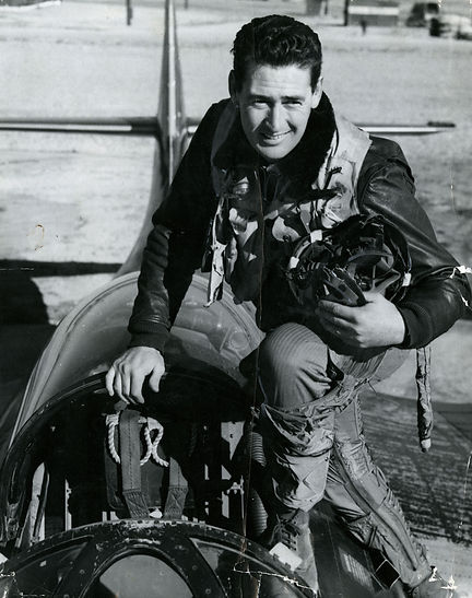 Ted Williams WWII Pilot - Pic Saved on S