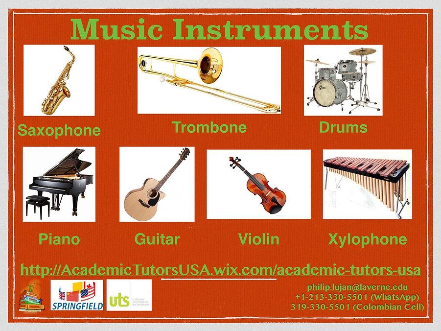 A1-A2 Vocab Bank - Music Instruments - 2