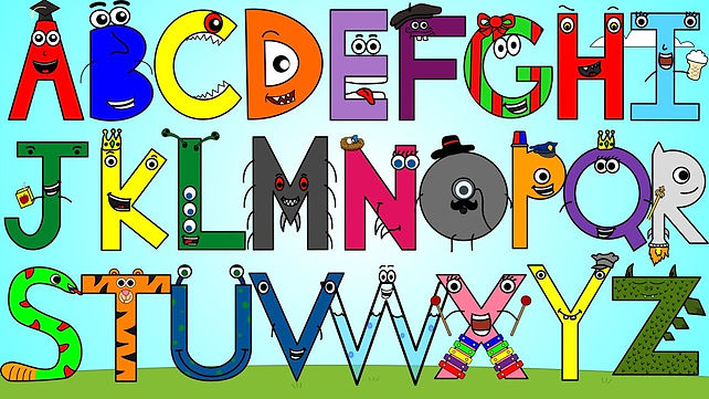 A1-A2 ESL For Kids - Alphabet Image 1 -