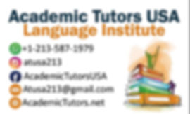 Acadmic Tutors USA Home Page Man Logo - April12 2020