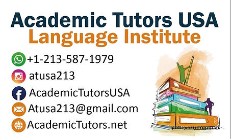 Academic Tutors USA Main Page Logo