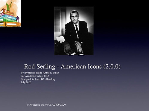 B2 Level Reading : Rod Serling