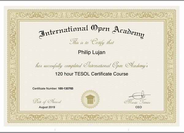 TESOL Certificate - IOA - IMG__ __ -- --