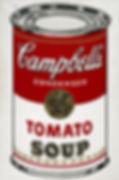 Campbells Soup Andy Warhol - Jan 7 2020.