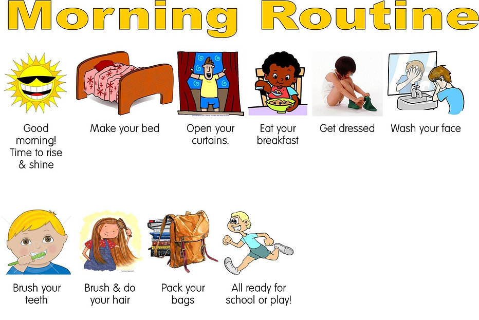 A1-A2 ESL for Kids - Daily Routine - Mor