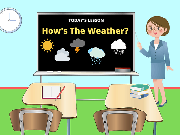 A1-A2 - ESL for Kids - Weather - 2 - Sep
