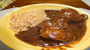 Chicken Mole - Dona Maria Mole Sauce - J