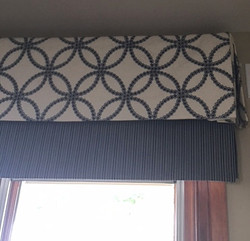 Custom layered valance