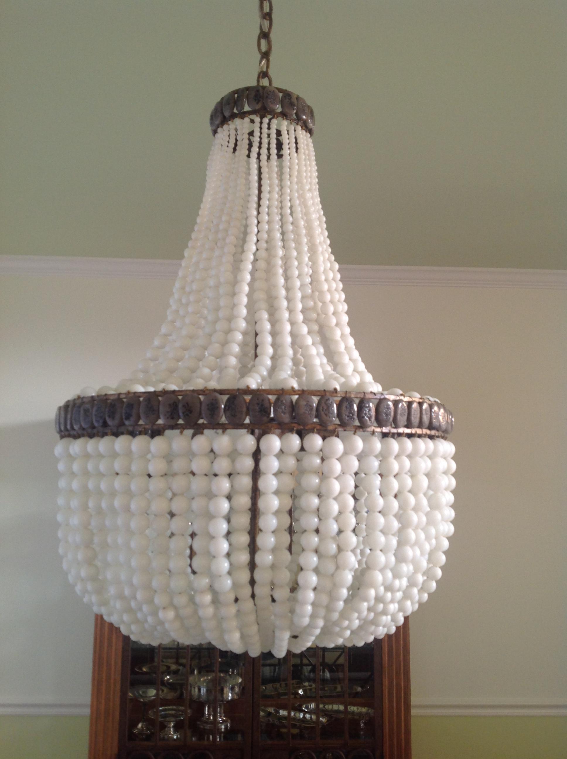 Currey & Co chandelier