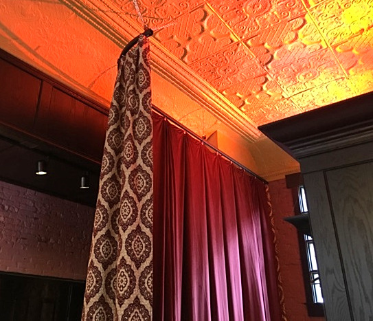 2-sided room divider curtain