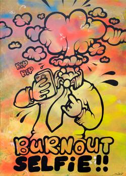 Burnout Selfie