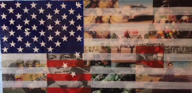 "My America (18"" x 36"")"