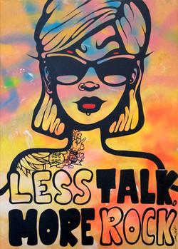 Less Talk, More Rock