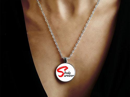 Stroke Survivor Charm & Necklace