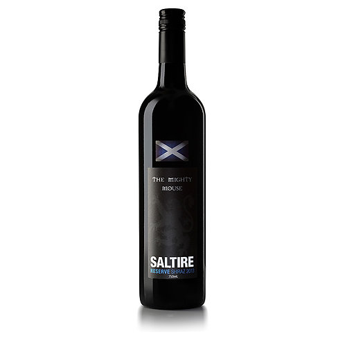 Saltire 'Mighty Mouse' Reserve Shiraz 2013