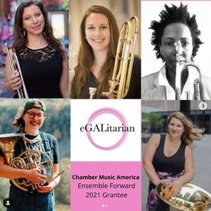 2021 Chamber Music America Ensemble Forward Grant announcement