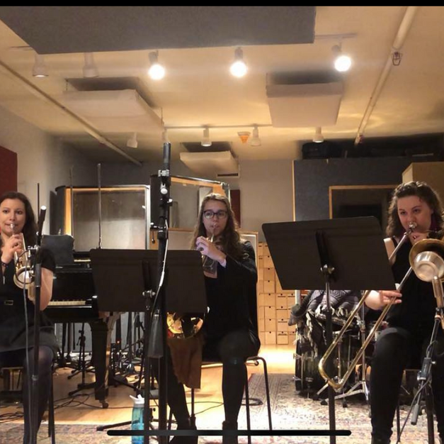 Recording Session in 2019