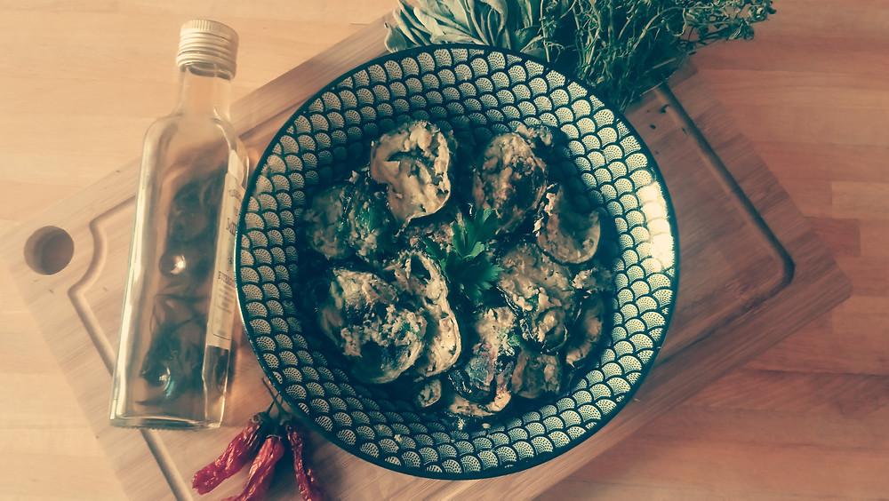 Aubergines rôties aux anchois / Recette / Blog Culinaire Les Petites Menteuses
