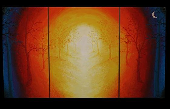 Julie Baptiste Artworks, ArtPrize 2014 entry, Let's Get Lost, showing at Founders Brewing Co. September 24th - October 12th