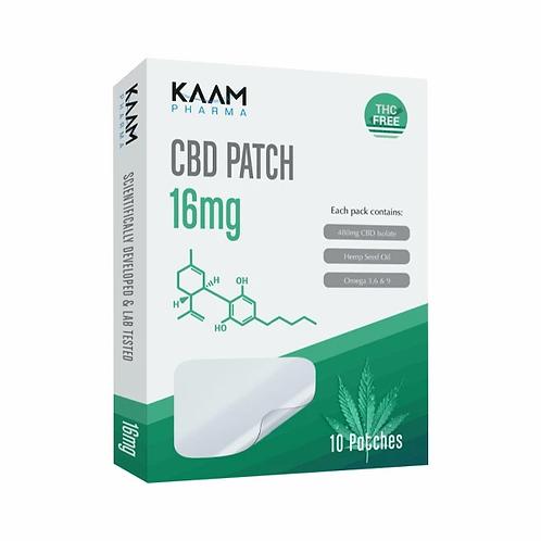 Kaam Pharma CBD 16mg Patches