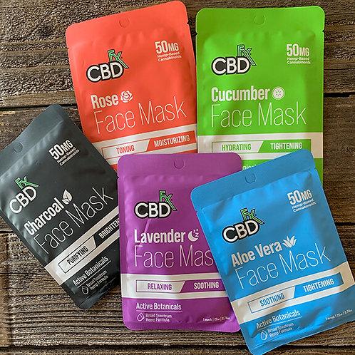 CBDFX Face Mask - 50mg