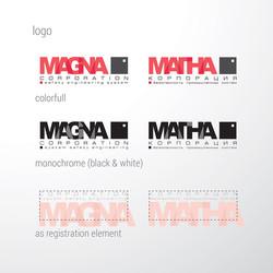 дизайн логотипа, MAGNA