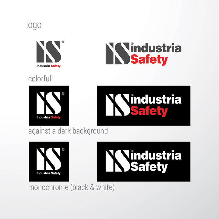 дизайн логотипа, INDUSTRIA SAFETY