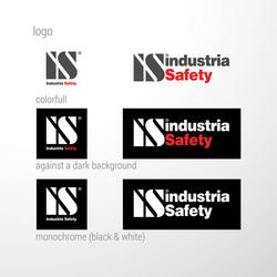 INDUSTRIA SAFETY, дизайн логотипа