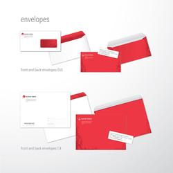 банк МИА, фирменные конверты