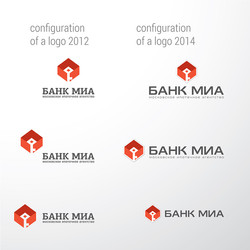 редизайн логотипа, банк МИА