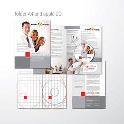 папка и яблоко диска, ALIBRA SCHOLL
