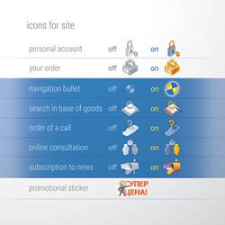 РОБАМАГ, инфографика пиктограмм