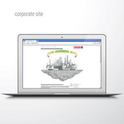 корпоративный сайт, MAGNA