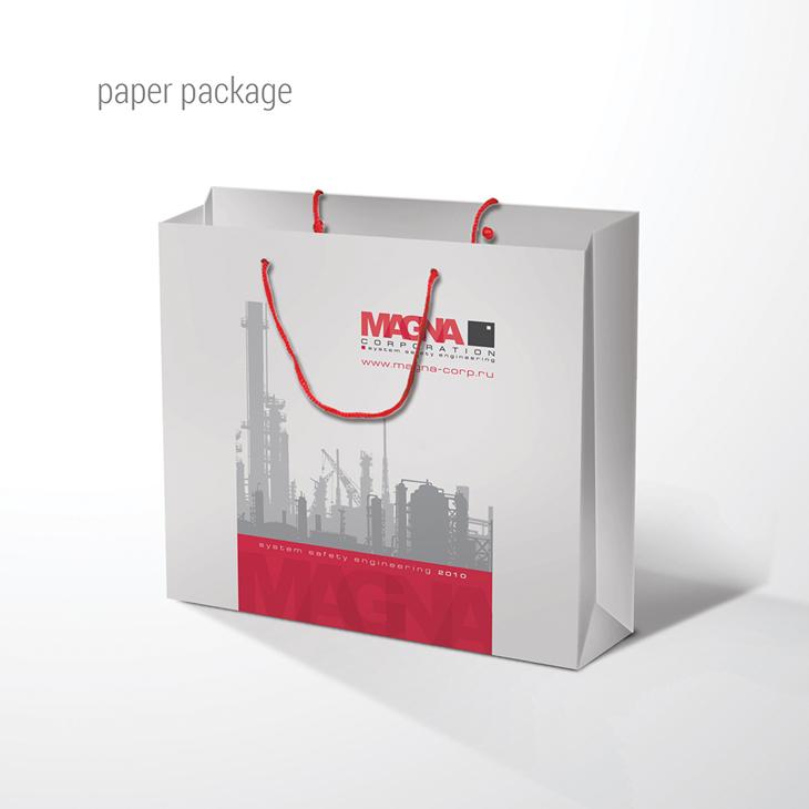 MAGNA, пакет бумажный