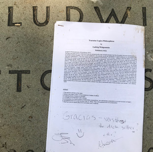 Printout of the Tractatus