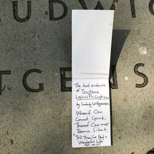 Handwritten note pg 1