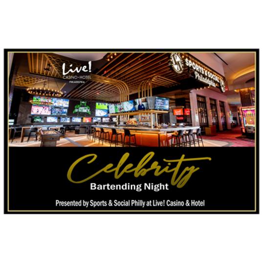 Celebrity Bartending Night at Live! Casino & Hotel