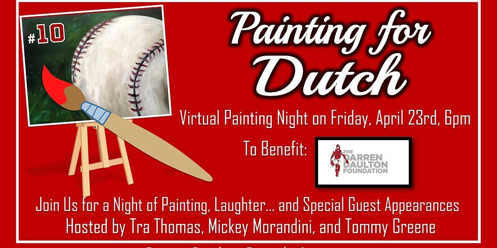 Virtual Painting Night with Tra Thomas
