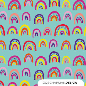 Over the Rainbow Pattern