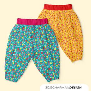 Harem Pants in Kids Floral