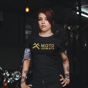 Moto Armata Women's short sleeve tshirt