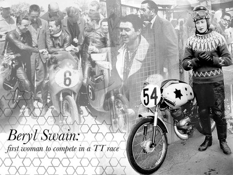 What Woman Would Race the Isle of Man TT?